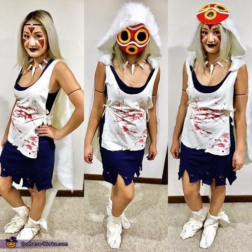 princess mononoke kodama homemade costume