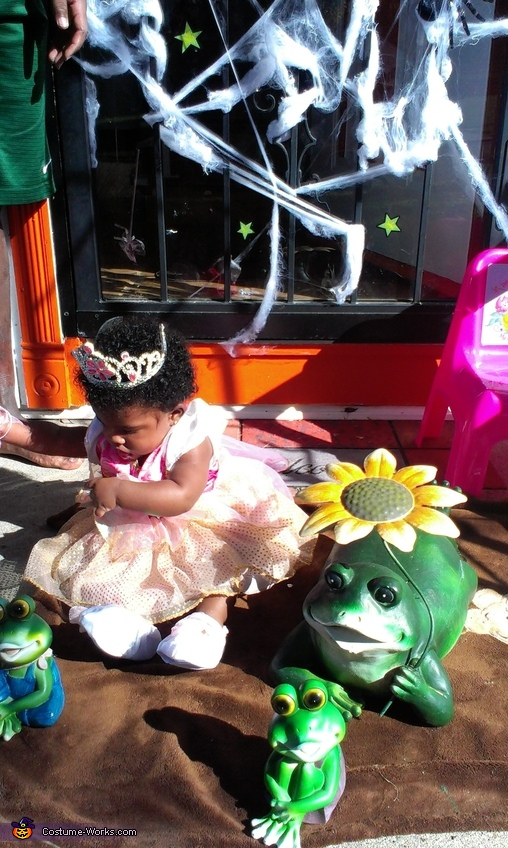 Time for a water break,its hot!, Princess & Her Frogs Costume