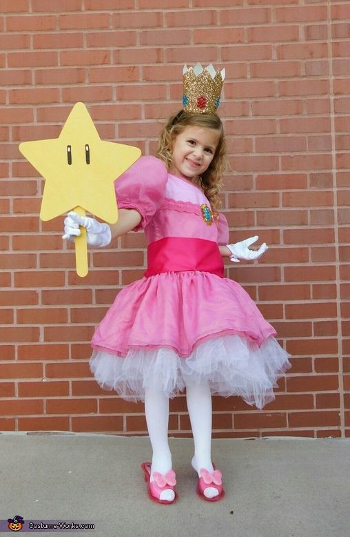 Princess Peach Costume  sc 1 st  Costume Works & Princess Peach Child Costume