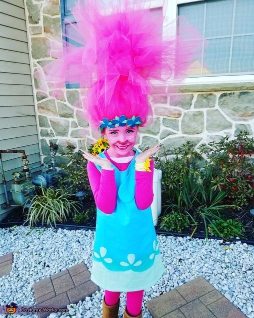 Princess Poppy Homemade Costume