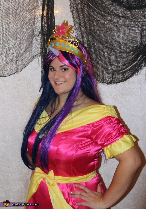 Element of Magic Crown, Princess Twilight Sparkle Coronation Gown Costume