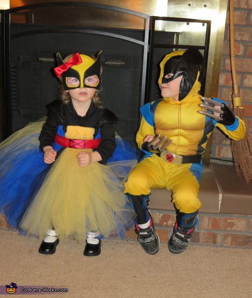Princess Wolverine Costume