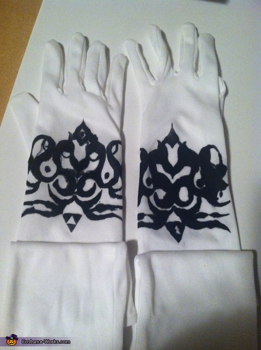 Gloves, Princess Zelda Costume