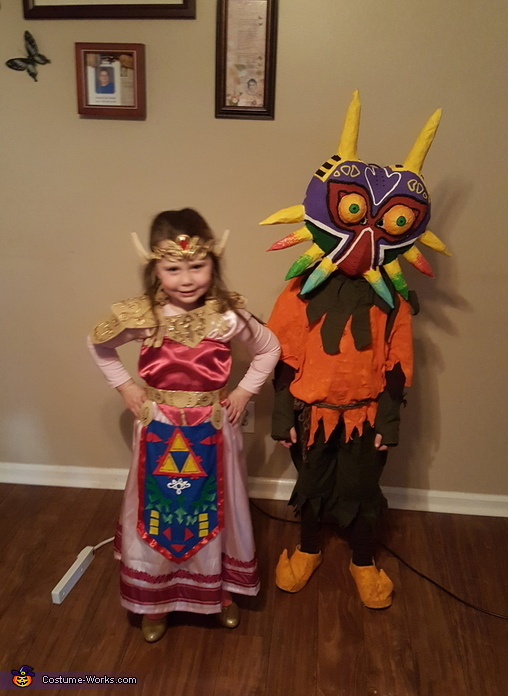 Princess Zelda and Skull Kid Costume