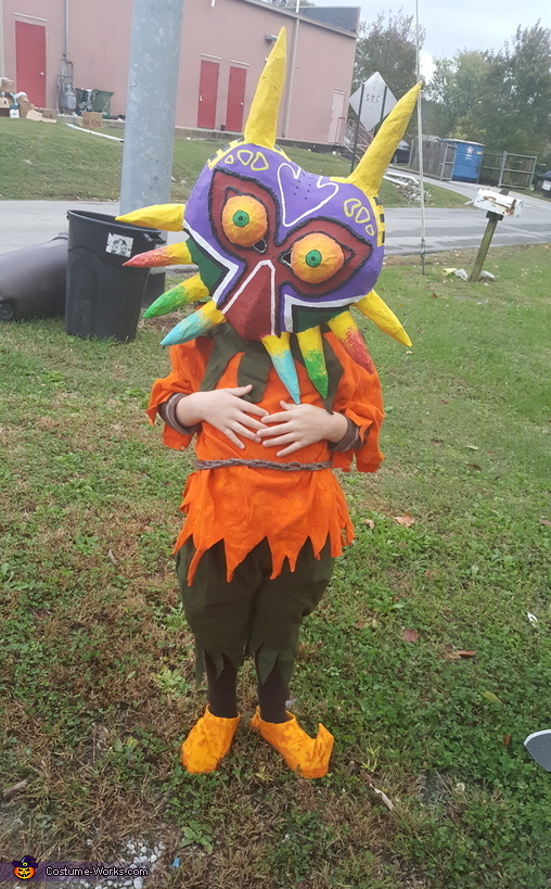 Princess Zelda and Skull Kid Homemade Costume