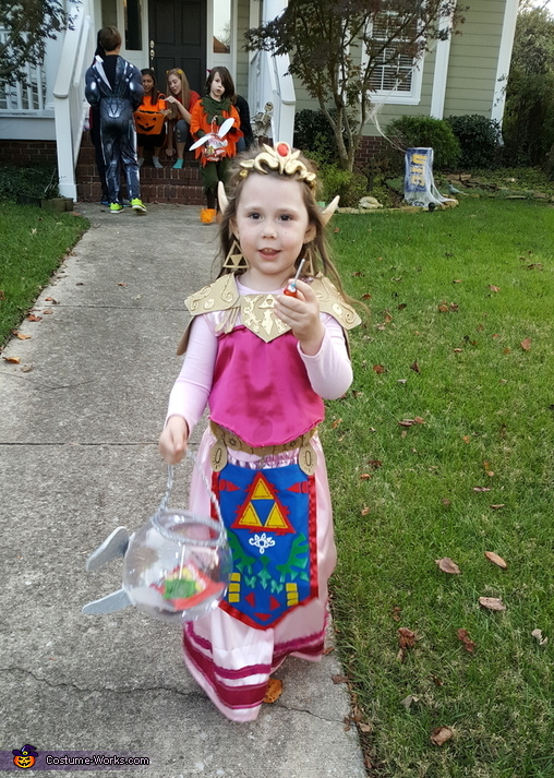 Princess Zelda and Skull Kid Homemade Costume  sc 1 st  Costume Works & Princess Zelda and Skull Kid Costume - Photo 8/10
