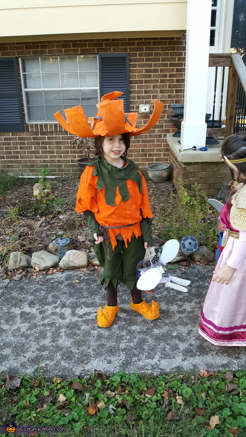Princess Zelda and Skull Kid Homemade Costume