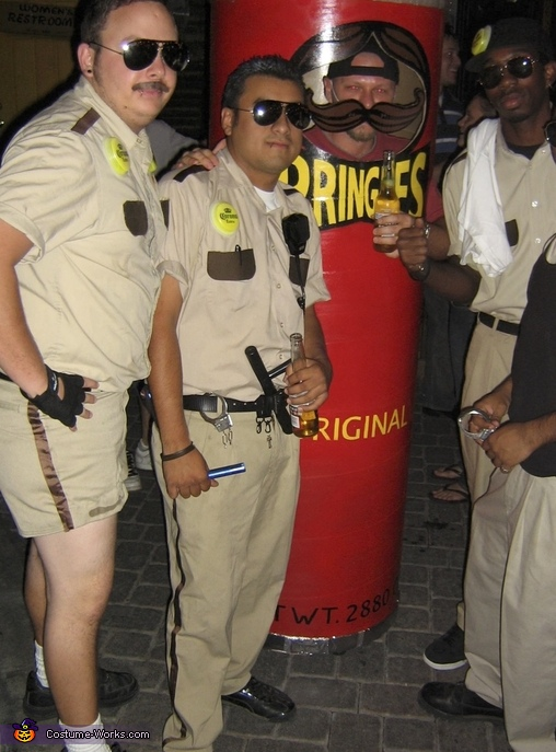 Pringles With Reno 911, Pringles Can Costume