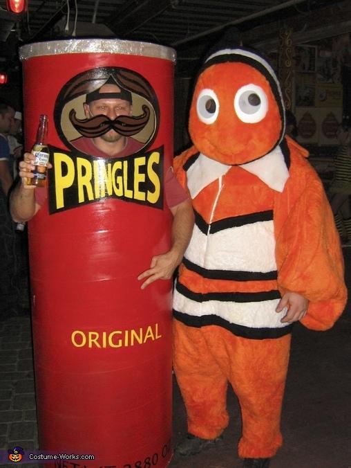Pringles Can Costume