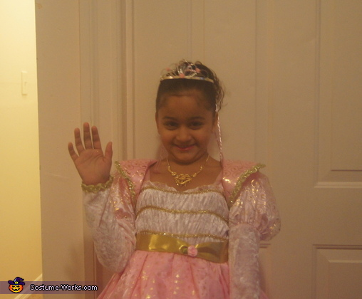 Princess Halloween Costume for Girls