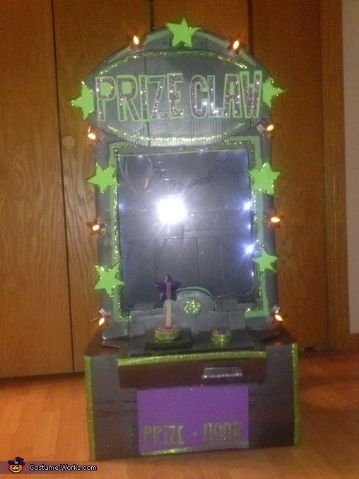 Prize Claw Machine Homemade Costume