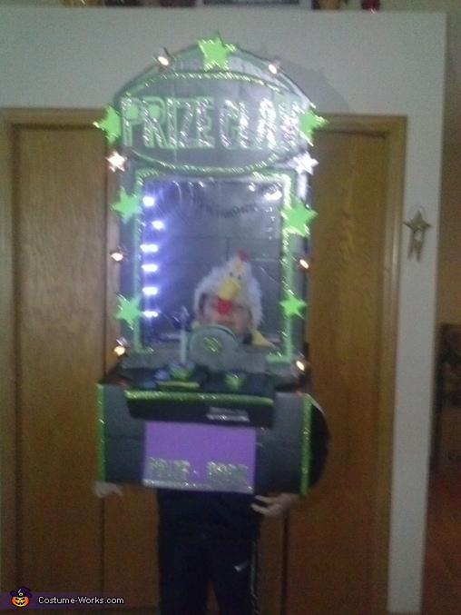 Prize Claw Machine Costume
