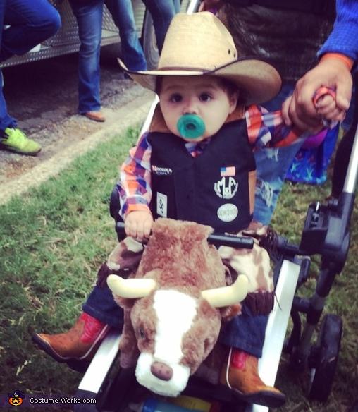 Professional Bull Rider Costume