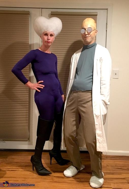 Mom and Professor Farnsworth, Professor Farnsworth and Mom Costume