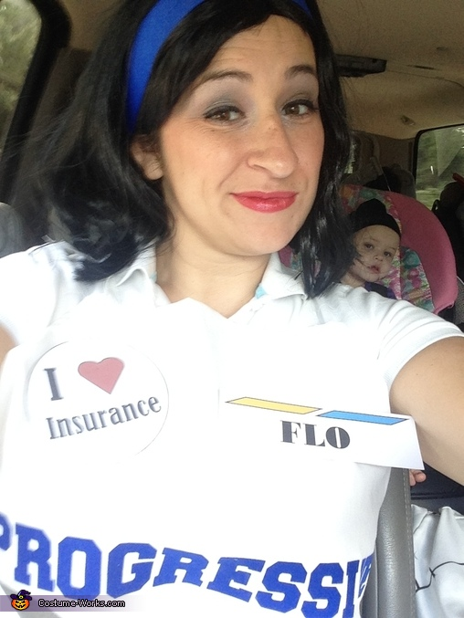 Flo, Progressive Flo & Jake from State Farm Costume