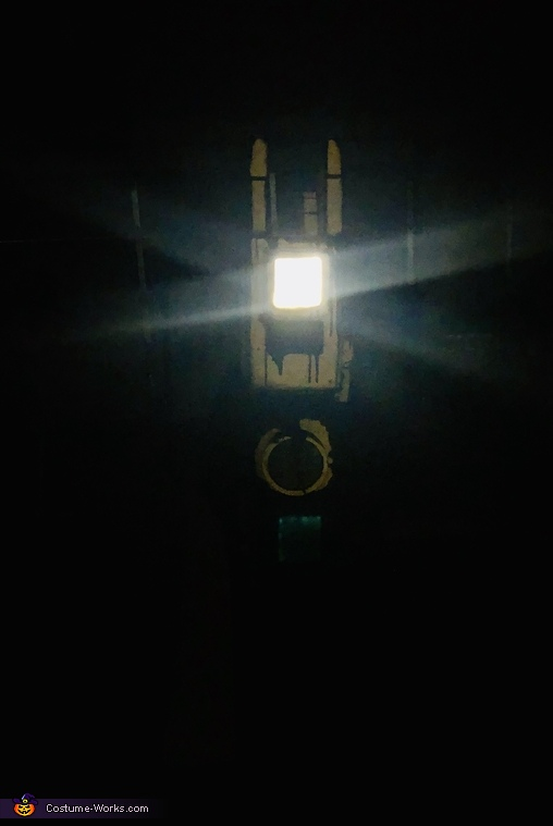 The only light you will see, Projectionist from Bendy and the Ink Machine Costume