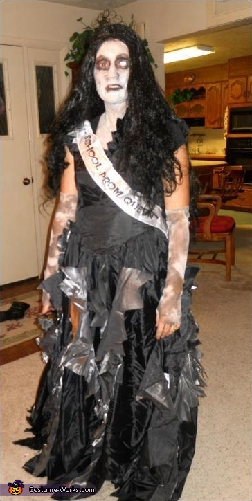 Prom Queen Zombie - Homemade costumes for women