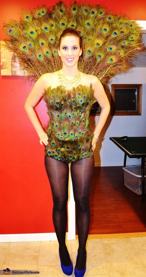 Proud Peacock Costume