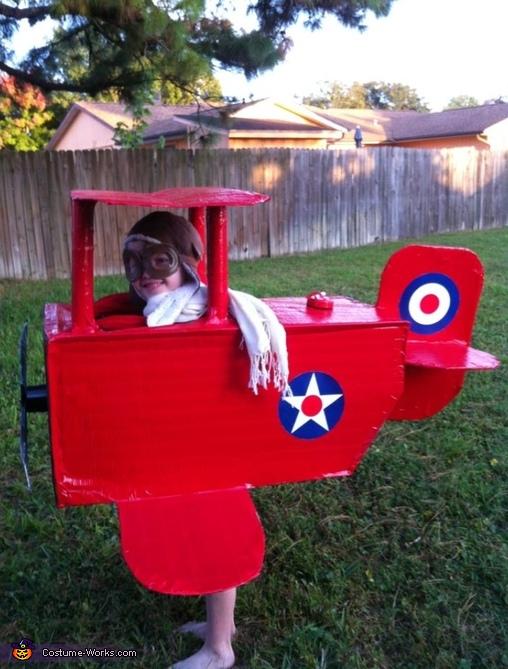 Proud Pilot Costume