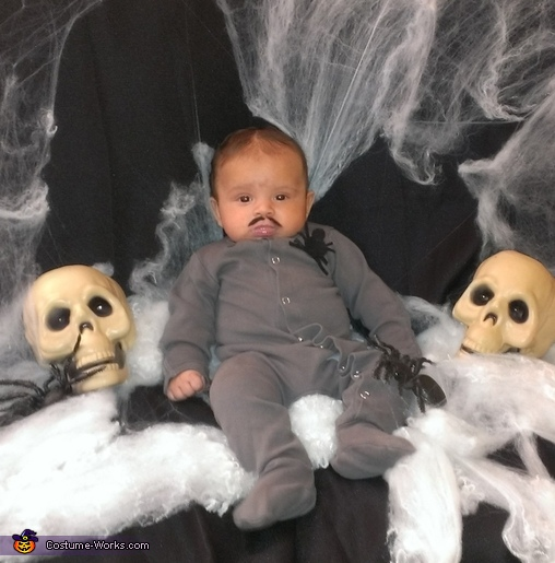 Pubert Addams Baby Costume