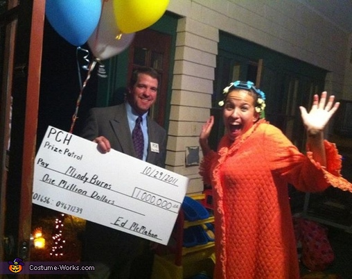 Publishers Clearing House & Winner - Homemade costumes for couples