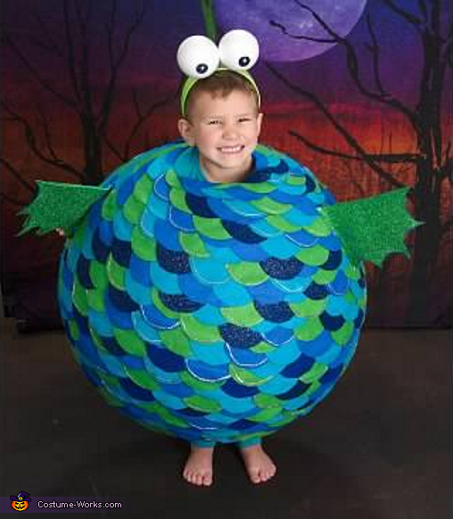 pufferfish costume