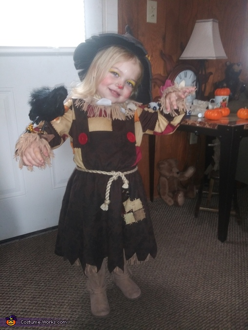 Pumkin Patch Scarecrow Homemade Costume