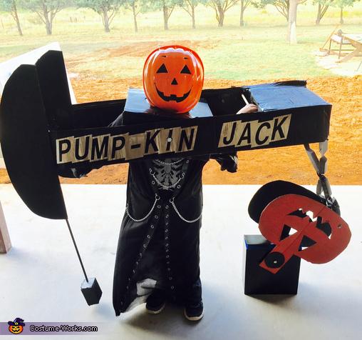Pump-kin Jack Costume