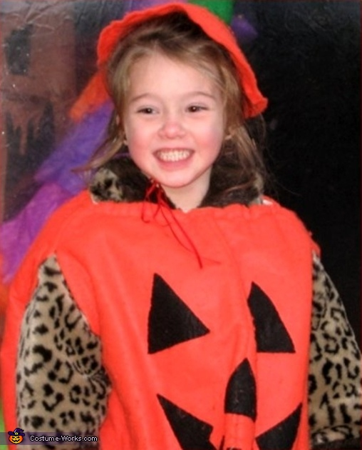 Jack-o-Lantern - Homemade costumes for girls