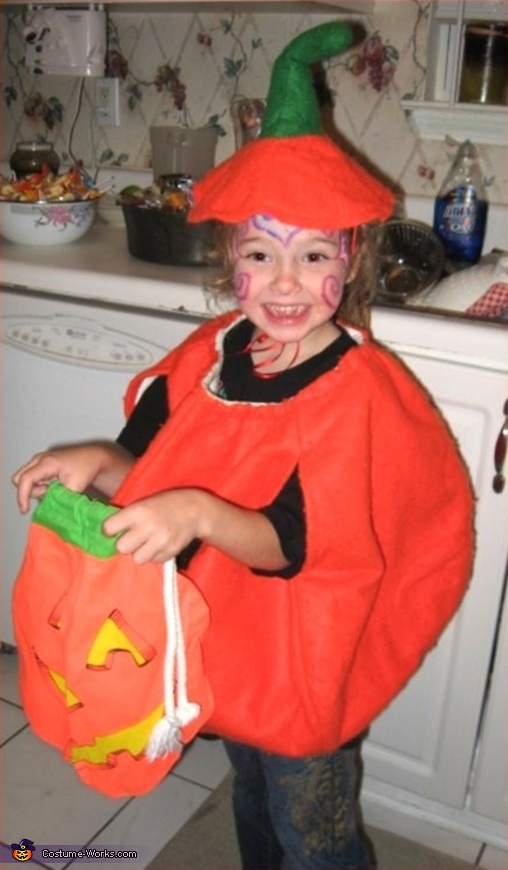 Jack-o-Lantern Costume