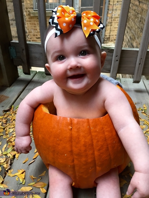 Chicago's Cutest Pumpkin Baby, Pumpkin Baby Costume
