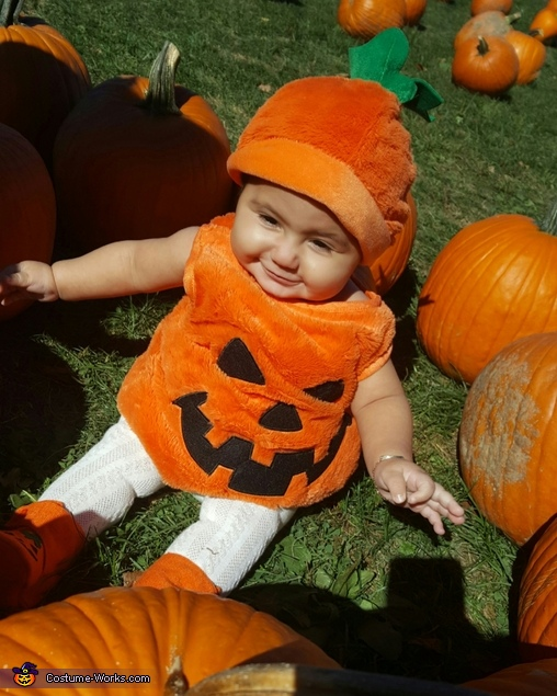how to make a pumpkin costume for baby