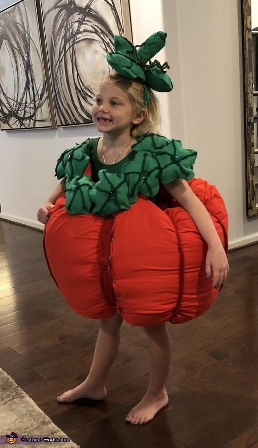 Pumpkin Top, Pumpkin Cutie Pie Costume