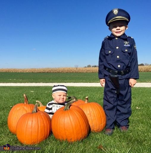 Pumpkin Jail Costume