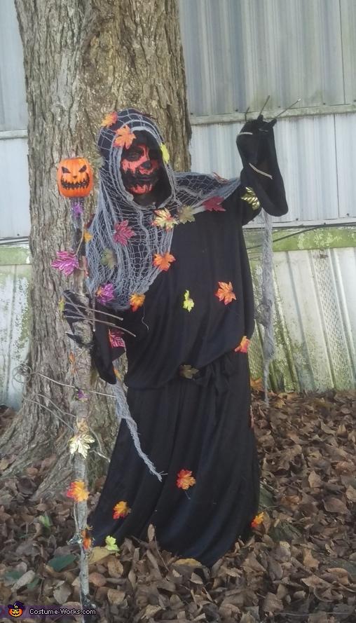 Pumpkin Necromancer Costume