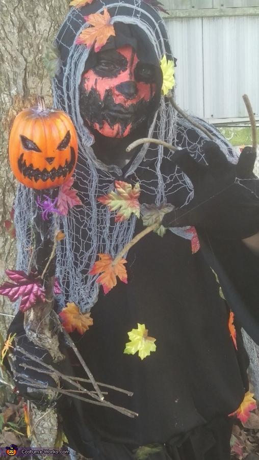 Pumpkin 2, Pumpkin Necromancer Costume