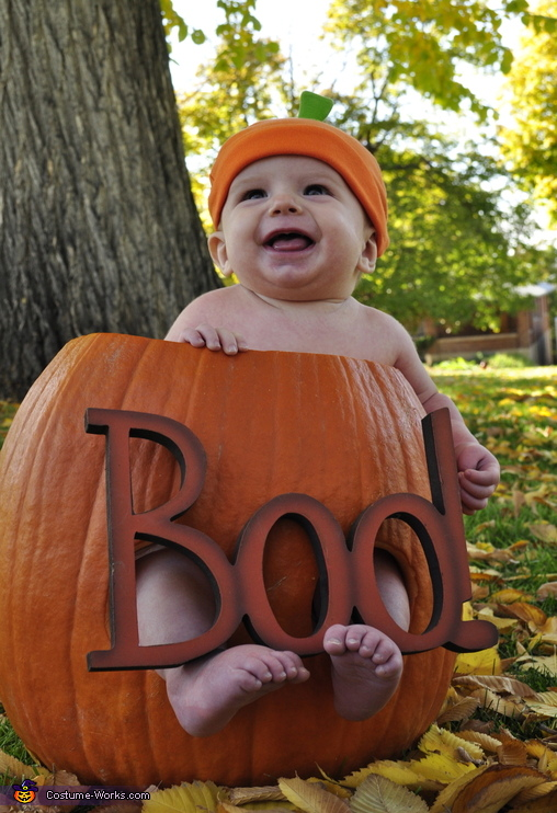 lil punkin!, Pumpkin Patch Baby Costume