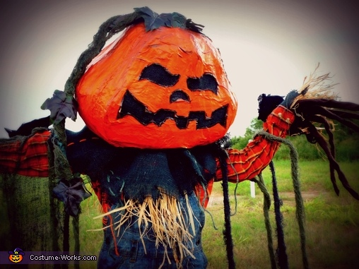 Pumpkin Patch Scarecrow Homemade Costume