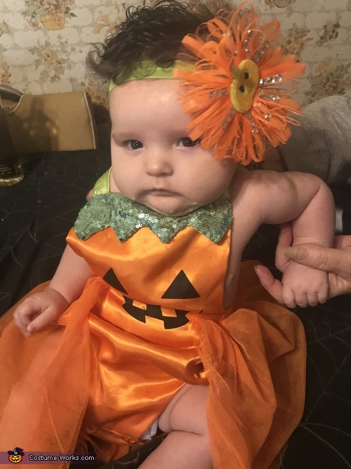 Pumpkin Princess Homemade Costume