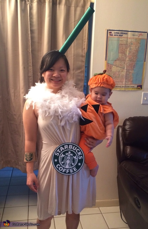 Pumpkin Spice Latte Costume