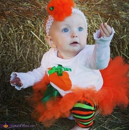 Pumpkin Tutu Baby Costume