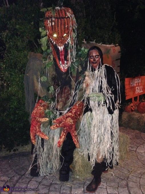 Pumpkinheadz Costume