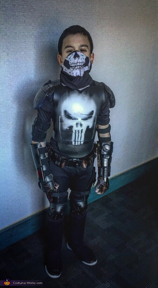 Punisher and Red Hood Costumes