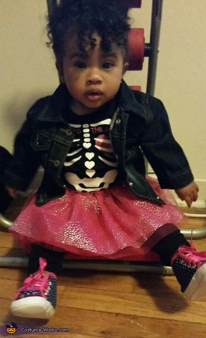 Punk Rock Baby Costume
