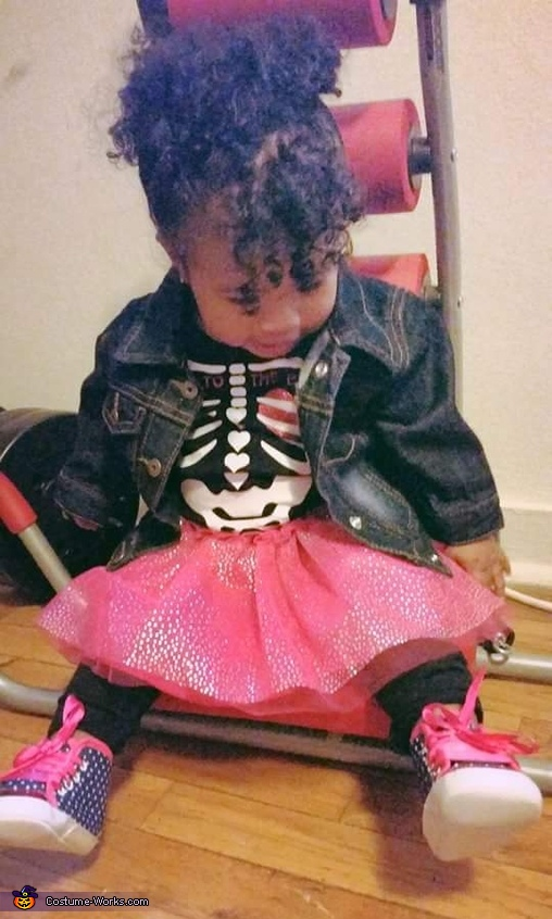 Punk Rock Baby Homemade Costume