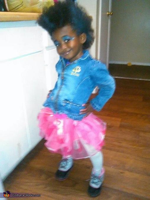 Punk Rock Girl Baby Costume