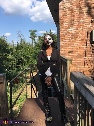Punk Rock Zombie Gaga Homemade Costume