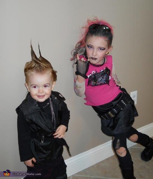 Punk Rockers Costumes
