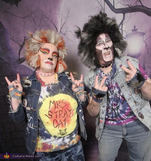 Punk Stray Cats Costume