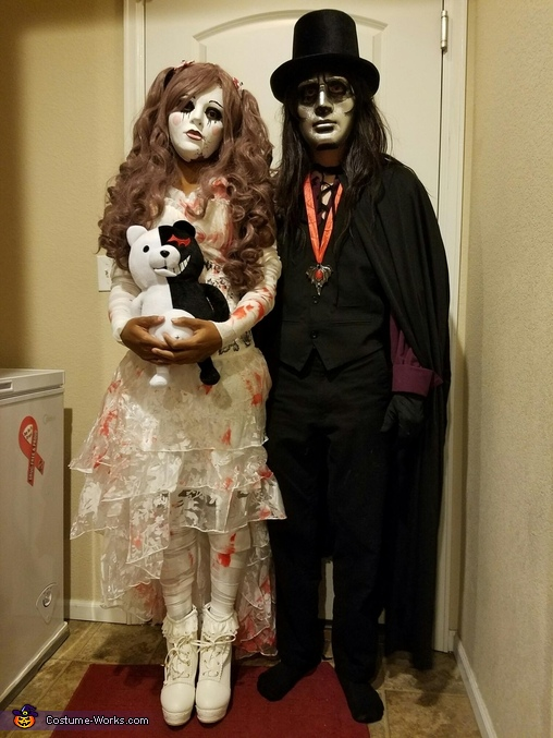 puppet and puppeteer couples costume